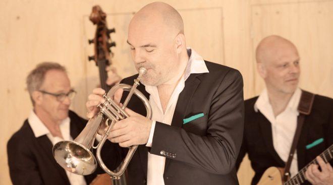 Live jazz met trompet