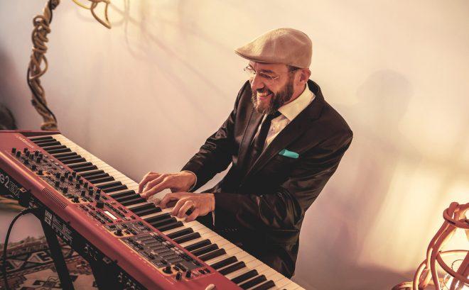 Pianist van jazz trio voor bedrijven en privéfeest