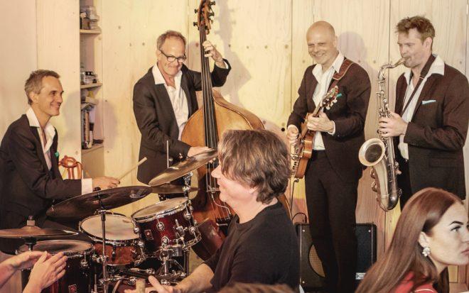 Professionele jazzband